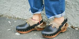 scarpe zoccoli moda autunno inverno 2018 2019