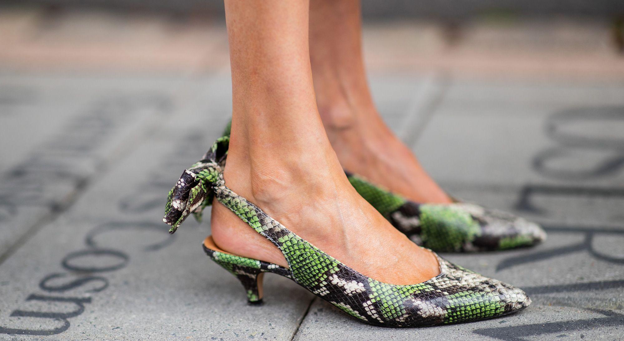 Scarpe moda autunno 2018: 12 modelli pitonati per l'autunno