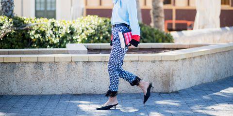 Clothing, Street fashion, White, Denim, Fashion, Jeans, Waist, Sportswear, Snapshot, Footwear,