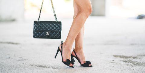 White, Black, Street fashion, Photograph, Clothing, Red, Footwear, Fashion, Polka dot, Shoe,