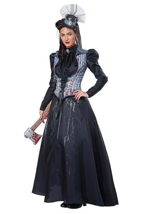 scary halloween costumes axe murderess costume