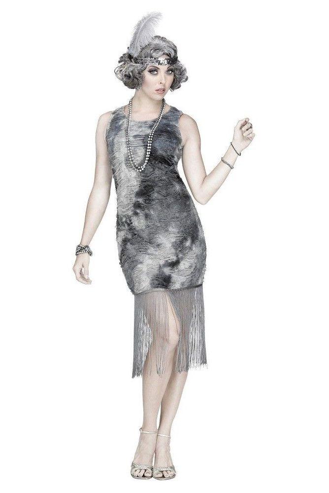 ghost flapper womens halloween costume