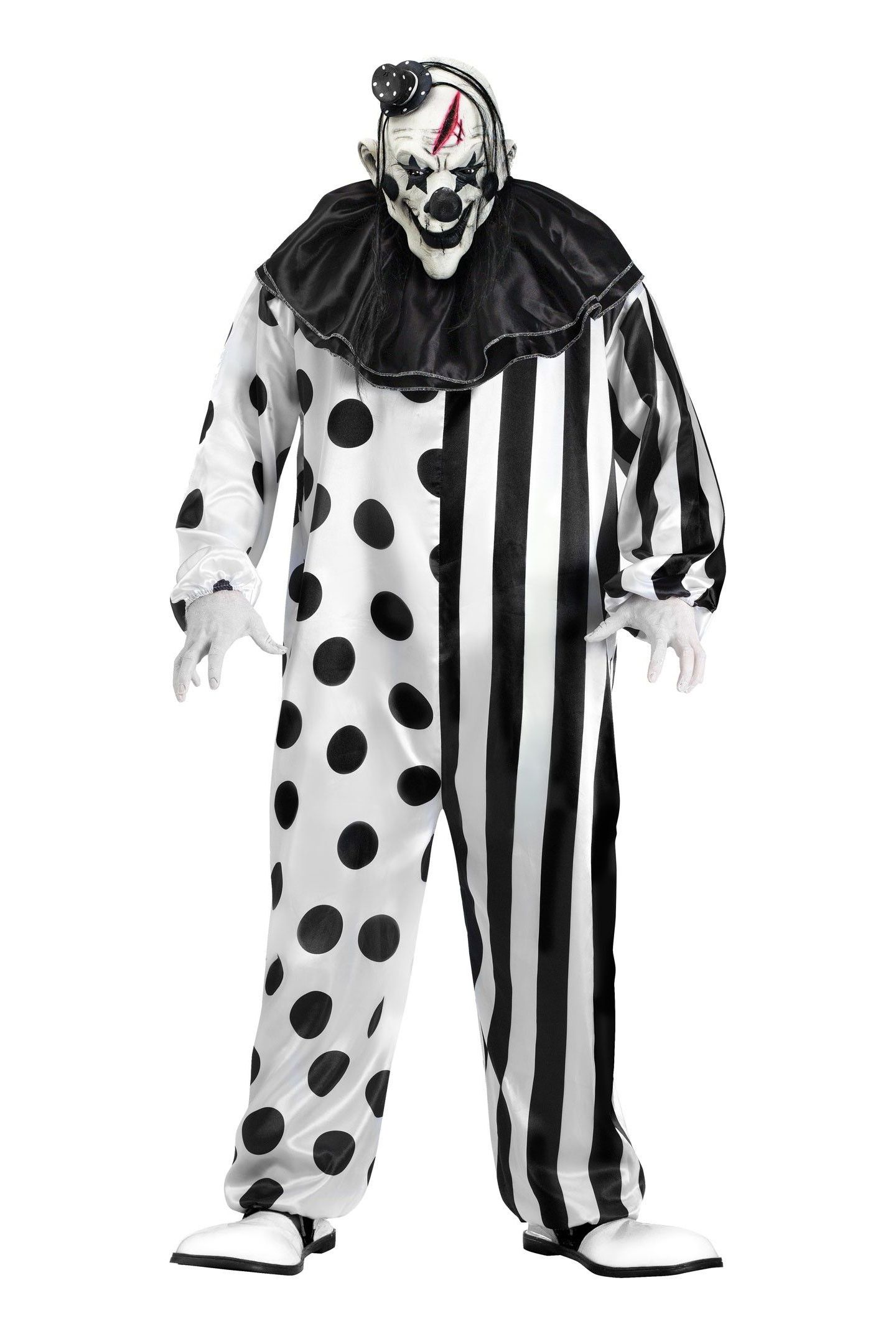 killer clown halloween costume