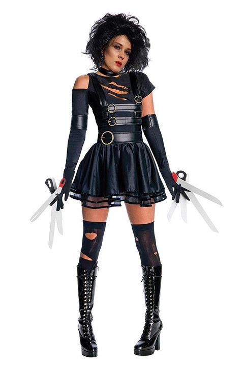 miss edward scissorhands womens halloween costume