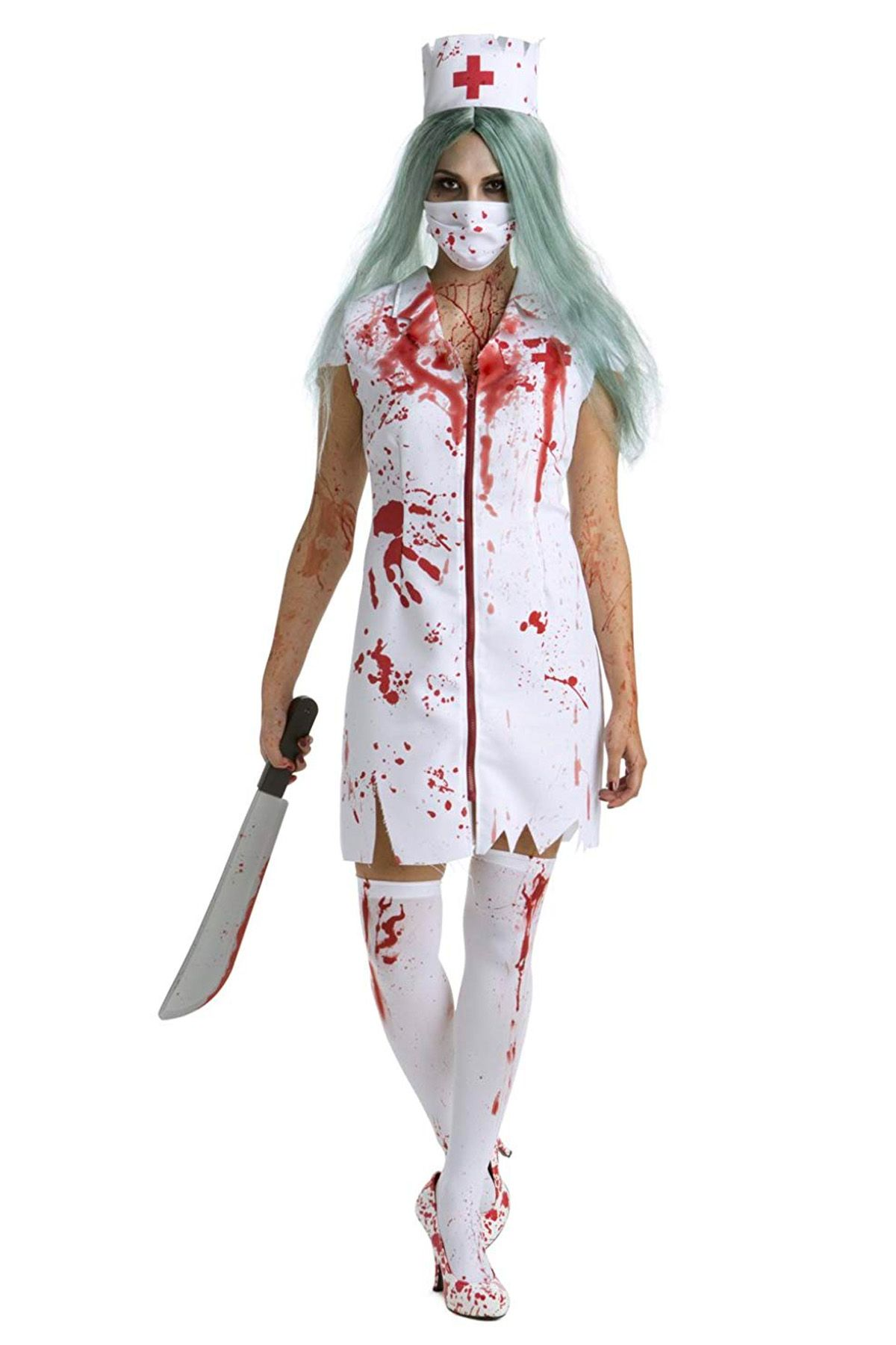 scary halloween costumes zombie nurse