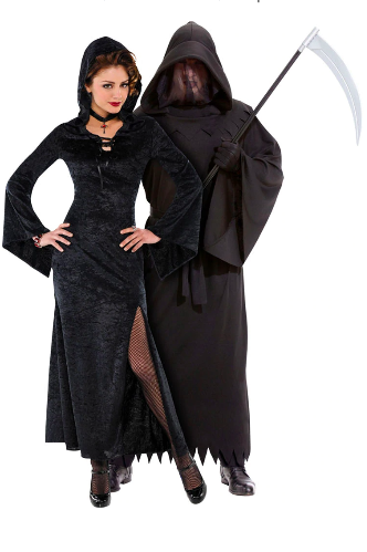 scary halloween couples costumes enchantress phantom of darkness