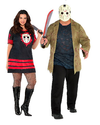 scary halloween couples costumes friday the 13th