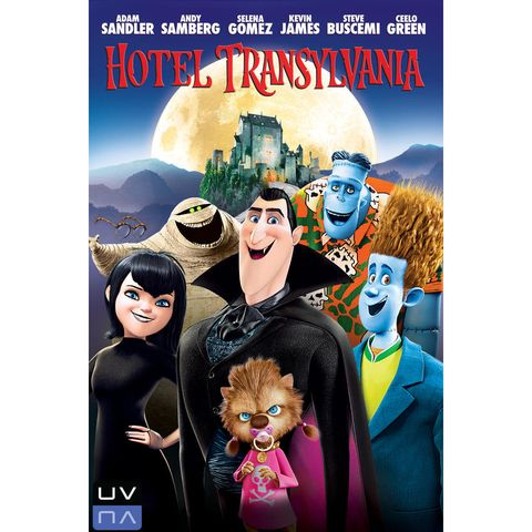 scary movies for kids - hotel transylvania