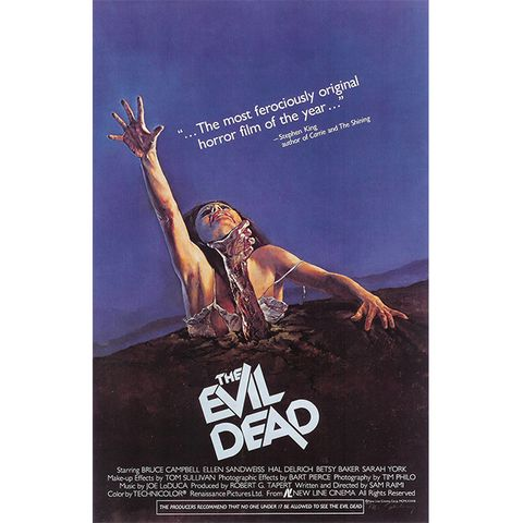 scary movies on netflix the evil dead
