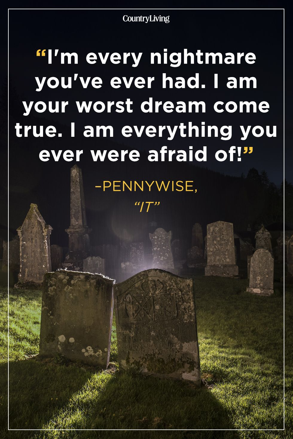 40 Scary Quotes - Creepy Quotes & Sayings About Fear & Eerie