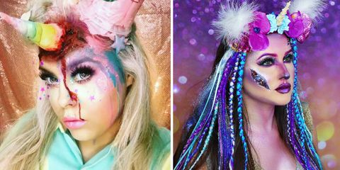 scary unicorn costumes