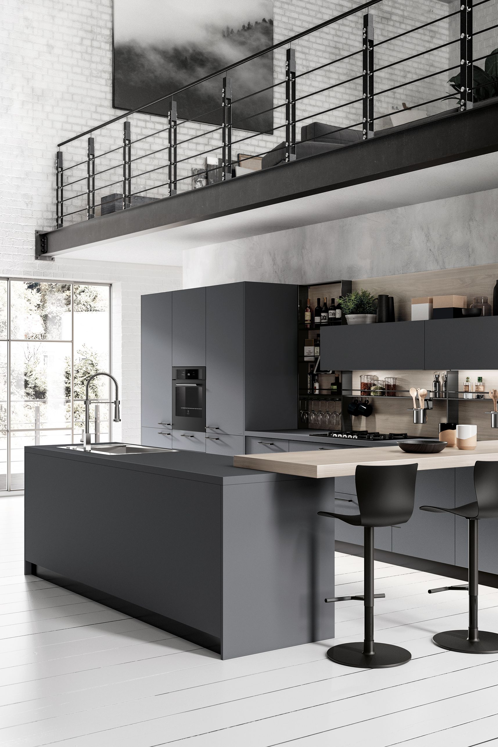 20 stunning dark kitchen ideas