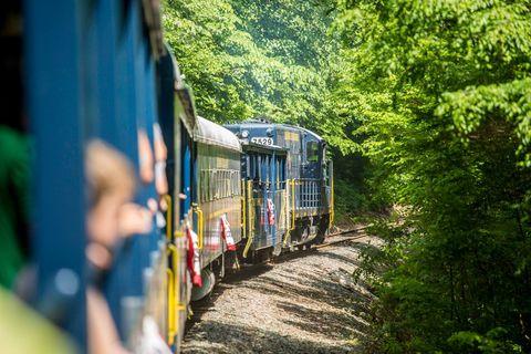 Scenic Train Rides For Kids Blue Ridge Railway