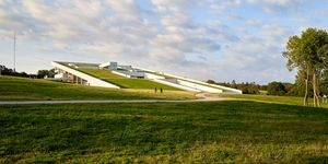 Circuito del Mundial de Cross 2019 con el Moesgaard Museum