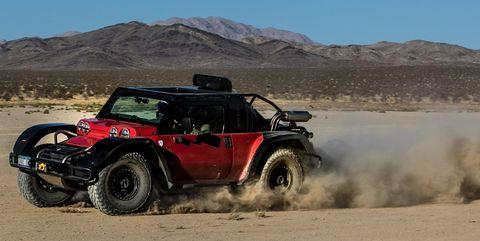 Scuderia Cameron Glickenhaus SCG Boot pre-Baja 1000 test