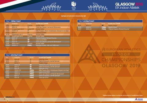 atletiek, EK, Glasgow, 2019, dafne schippers, persconferentie, EK indoor, indoor, medaille, hardlopen, runnersworld, Runner's World, runnersweb