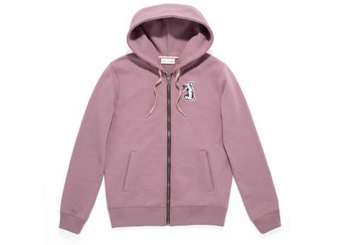Outerwear, Hood, Hoodie, Clothing, Sleeve, Pink, Jacket, Sweatshirt, Zipper, Polar fleece,