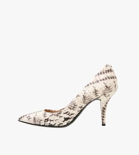 Footwear, High heels, White, Shoe, Court shoe, Beige, Basic pump, Sandal, Fashion accessory, Slingback,