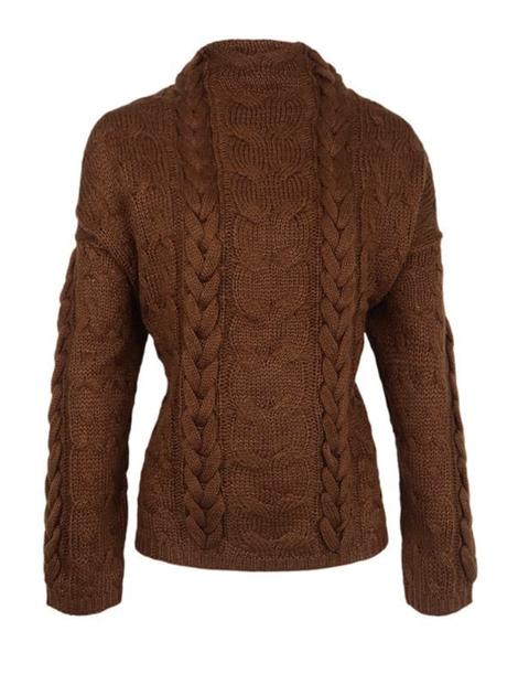 Clothing, Outerwear, Jacket, Brown, Sleeve, Blazer, Wool, Woolen, Beige, Neck,