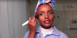 Beauty routine Halima Aden