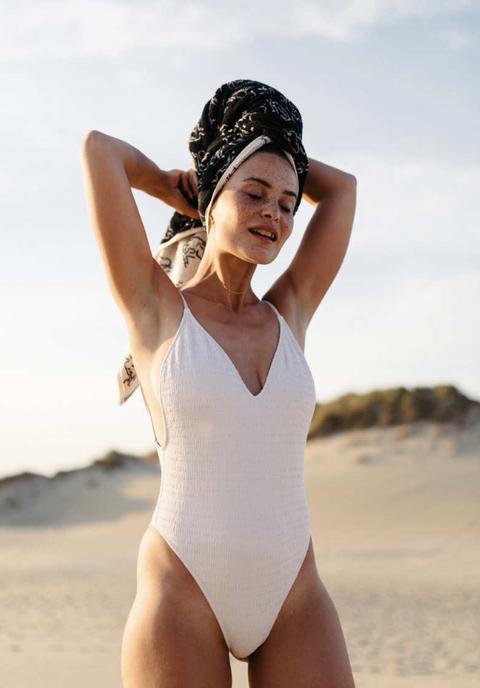 Clothing, One-piece swimsuit, Swimwear, Beauty, Maillot, Model, Leotard, Summer, Photo shoot, Monokini,
