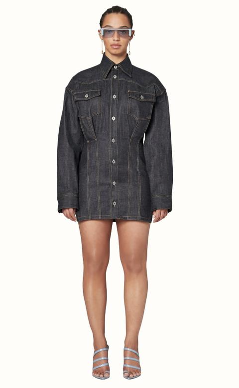 Clothing, Denim, Sleeve, Pocket, Jeans, Outerwear, Dress shirt, Button, Fashion, Shirt,