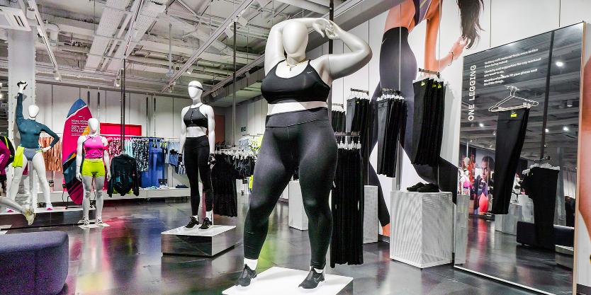 Mogen We Het Even Over De Nike Plus Size Paspop En Rtl