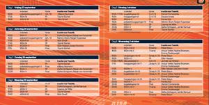 Bekijk het tijdschema van het WK atletiek in doha 2019
