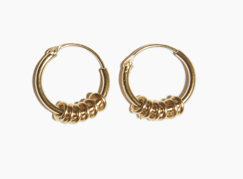 Earrings, Jewellery, Fashion accessory, Body jewelry, Metal, Brass, Circle, Gold, Silver,