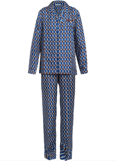 Clothing, Blue, Pajamas, Sleeve, Nightwear, Pattern, Plaid, Suit, Design, Outerwear,