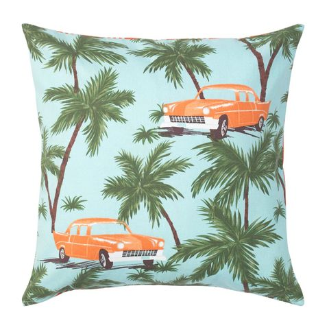 geef je huis dit seizoen een tropische touch het patroon geeft een nostalgisch, ontspannend zomergevoel uit een ander tijdperk