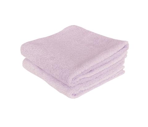 lila handdoeken van crisp sheets