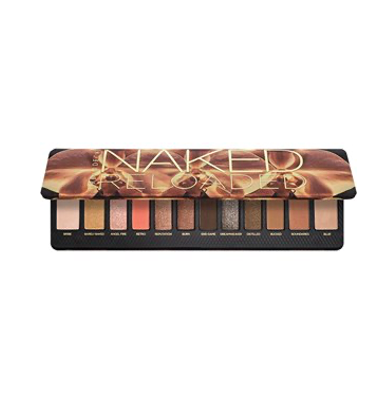 urban decay naked reloaded oogschaduw palette