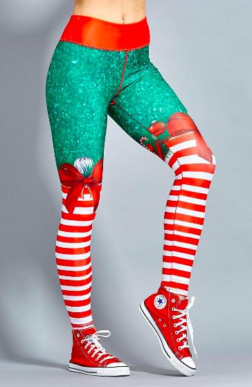 funky december legging
