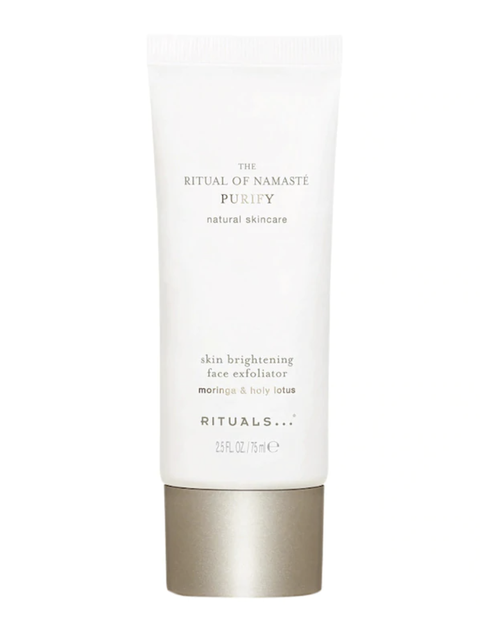 rituals skin brightening face exfoliator gezichtsscrub