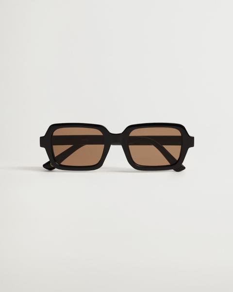 zonnebril met vierkant montuur