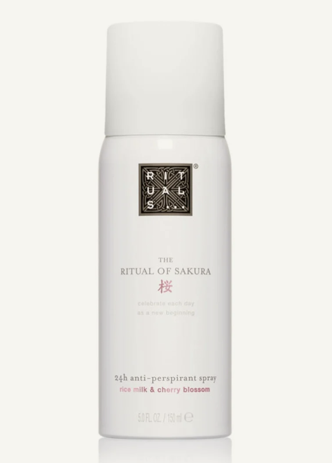 the ritual of sakura antiperspirant spray  deodorant