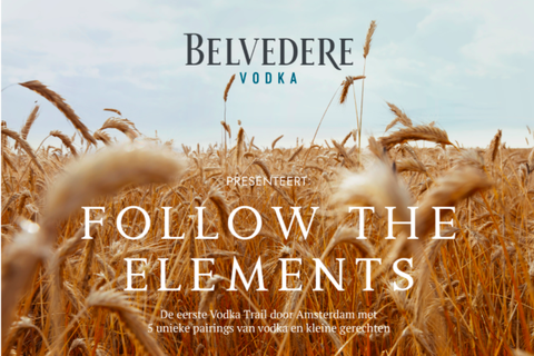 belvedere vodka follow the elements vodka trail