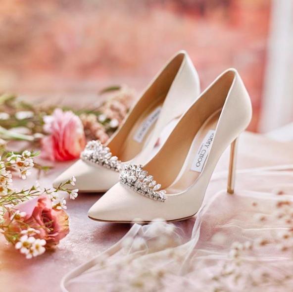 Scarpe Sposa Jimmy Choo Amazon.Jimmy Choo La Nuova Collezione Di Scarpe Da Sposa E Un Sogno