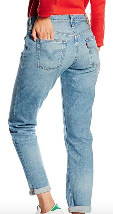Denim, Clothing, Jeans, Pocket, Blue, Waist, Leg, Thigh, Standing, Textile,