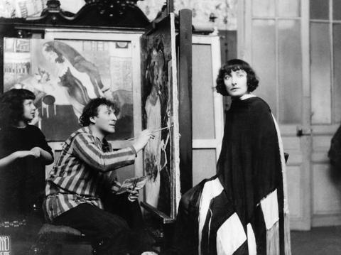 Marc Chagall Bella Chagall storia d'amore impossibile
