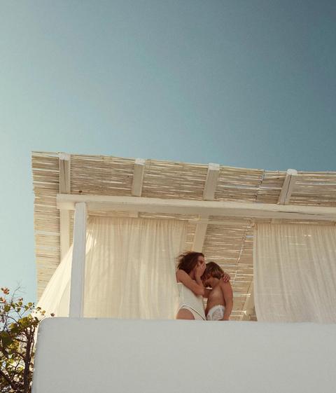 Photograph, White, Dress, Wall, Wedding dress, Bride, Bridal clothing, Photography, Ceremony, Room,