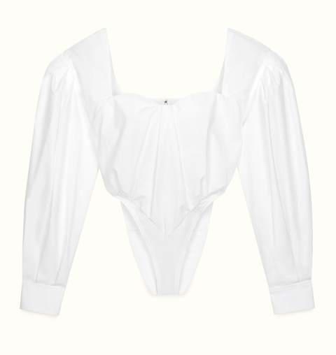White, Clothing, Sleeve, Collar, Blouse, Outerwear, Shirt, Neck, Top, T-shirt,