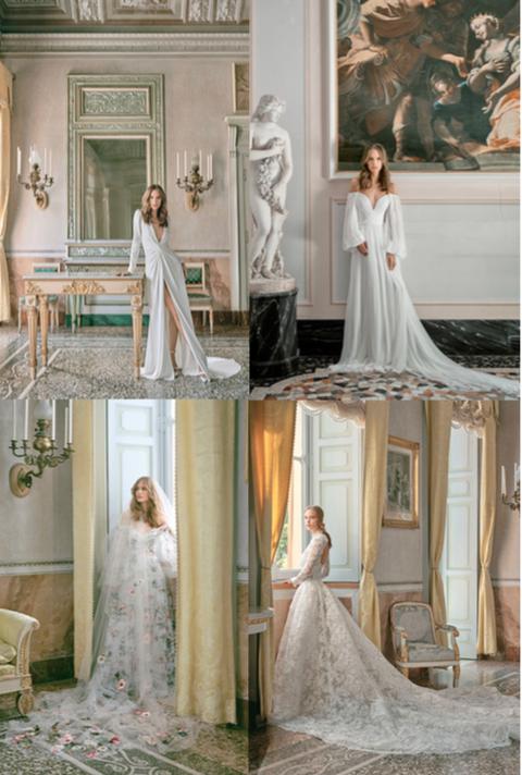 Wedding dress, Dress, Gown, Photograph, White, Clothing, Bride, Bridal clothing, Shoulder, Fashion,