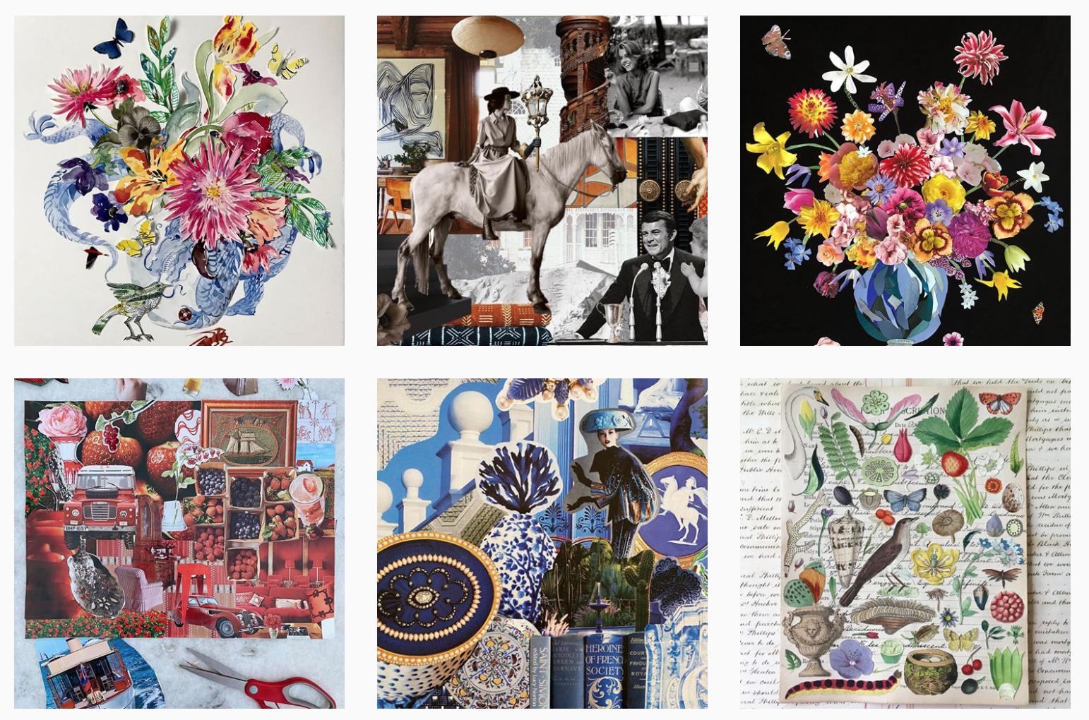 La challenge del collage, l'ultima mania (a fin di bene) degli interior designer su Instagram