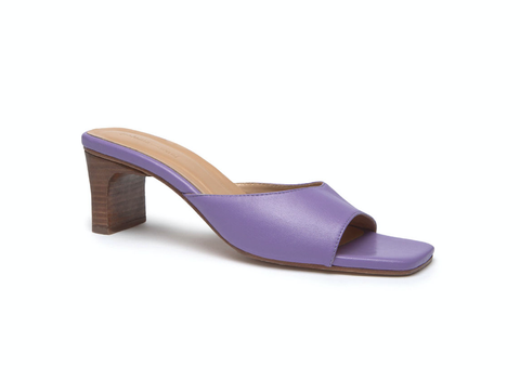 Footwear, Violet, High heels, Purple, Slingback, Sandal, Lilac, Shoe, Bridal shoe, Beige,