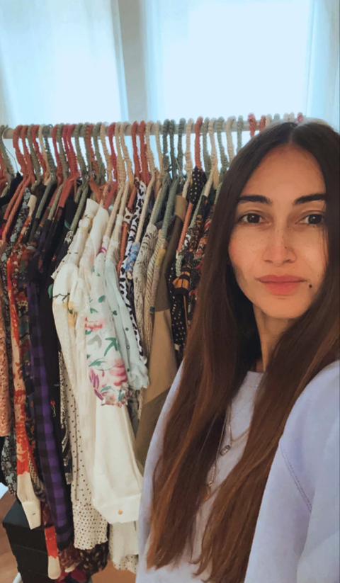 paola de cegli's closet, stylist di elle e celebrity stylist