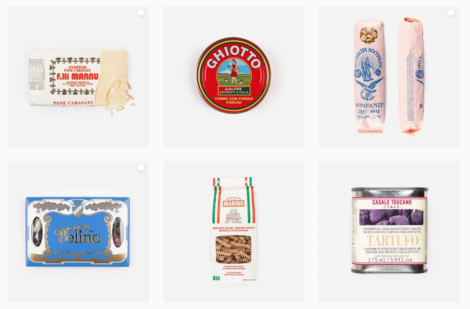 L'account Instagram per riscoprire la bellezza del packaging made in Italy