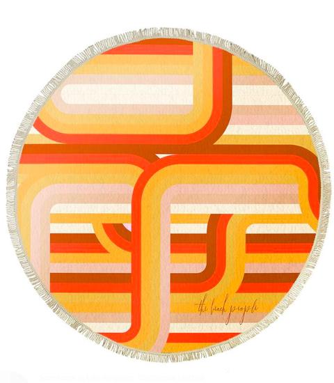Orange, Line, Font, Logo, Material property, Tableware, Circle, Symbol, Graphics, Illustration,