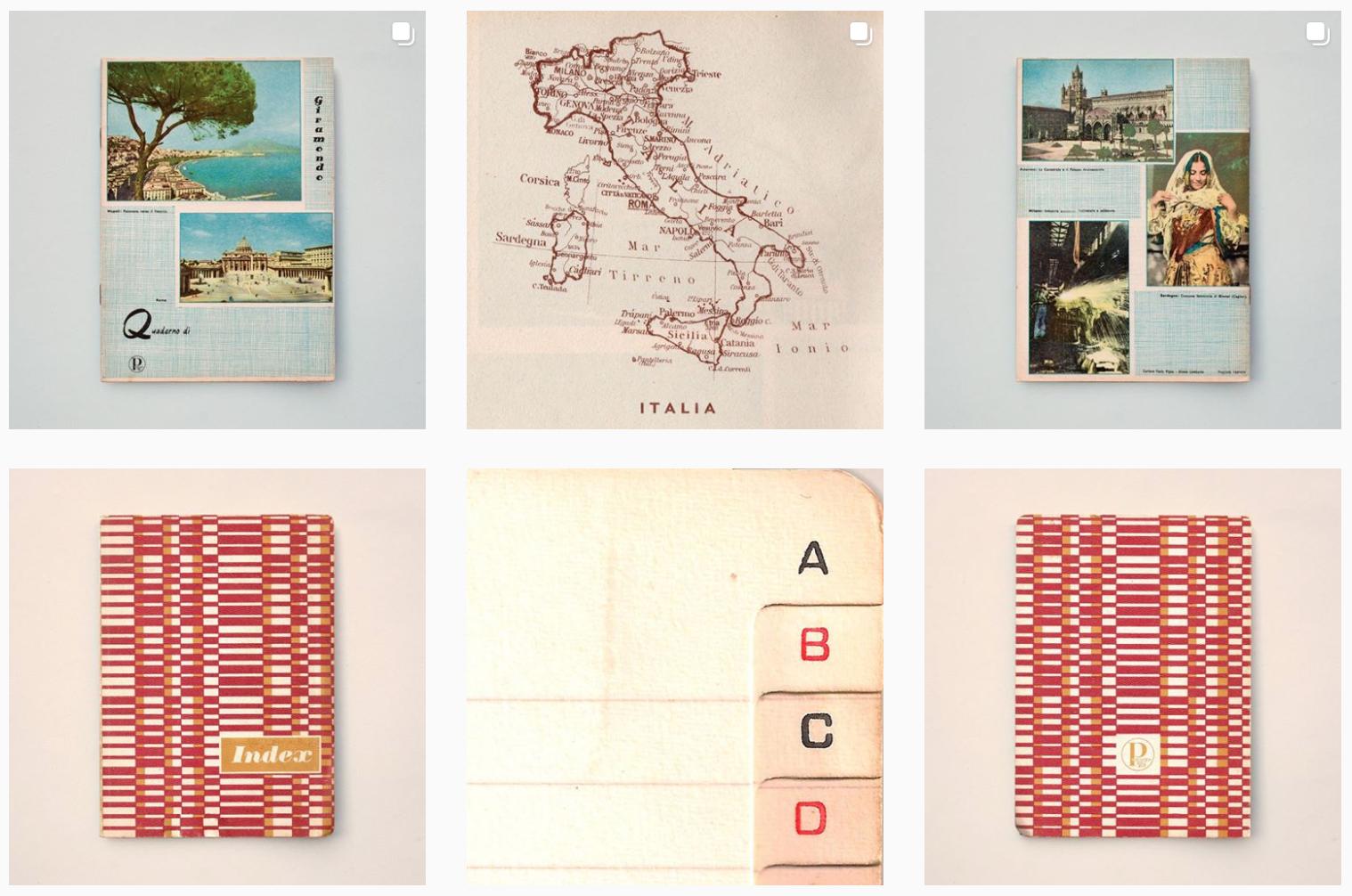 Quadernetto, l'account per sentire il profumo della carta su Instagram